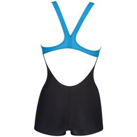 arena Kaori Combinaison Mujer, black/turquoise
